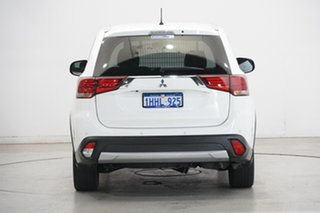 2016 Mitsubishi Outlander ZK MY16 LS 2WD White 6 Speed Constant Variable Wagon