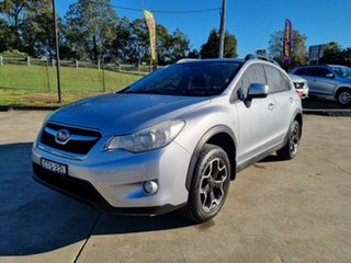2014 Subaru XV G4X MY14 FX Lineartronic AWD Silver 6 Speed Constant Variable Wagon.