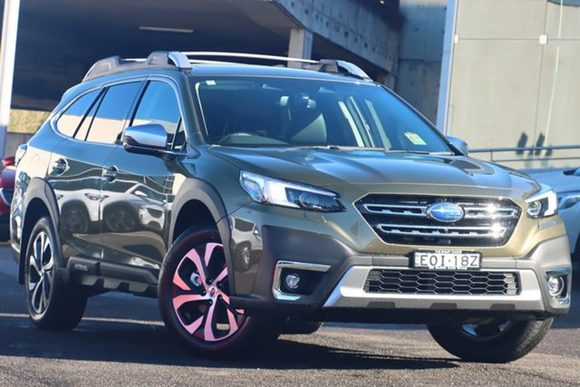 Demo Subaru Outback B7A MY21 AWD Touring CVT Brookvale, 2021 Subaru Outback B7A MY21 AWD Touring CVT Autumn Green 8 Speed Constant Variable Wagon