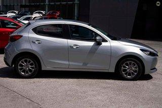 2021 Mazda 2 DJ2HAA G15 SKYACTIV-Drive Pure Silver 6 Speed Sports Automatic Hatchback