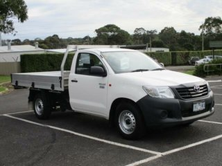 2014 Toyota Hilux TGN16R Workmate Automatic Cab Chassis.