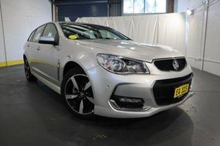 2017 Holden Commodore VF II MY17 SV6 Sportwagon Silver 6 Speed Sports Automatic Wagon.