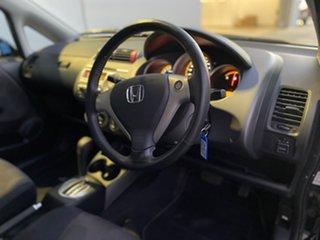 2006 Honda Jazz GD MY05 VTi-S Black 7 Speed Constant Variable Hatchback