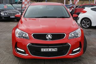 2017 Holden Commodore VF II MY17 SV6 Sportwagon Red 6 Speed Sports Automatic Wagon.