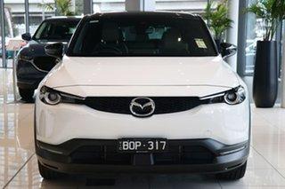 2021 Mazda MX-30 DR2W7A G20e SKYACTIV-Drive Touring Arctic White 6 Speed Sports Automatic Wagon.