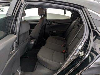 2017 Honda Civic 10th Gen MY17 VTi Black 1 Speed Constant Variable Hatchback