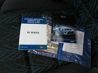 2005 Ford Falcon BF XR6 Silver 4 Speed Auto Seq Sportshift Utility