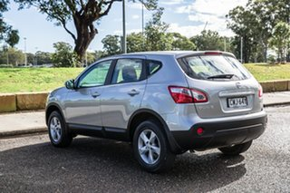 2012 Nissan Dualis J10W Series 3 MY12 ST Hatch 2WD Silver 6 Speed Manual Hatchback
