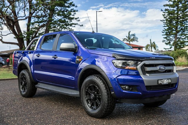 Used Ford Ranger PX MkII XLS Double Cab Port Macquarie, 2016 Ford Ranger PX MkII XLS Double Cab Blue 6 Speed Sports Automatic Utility