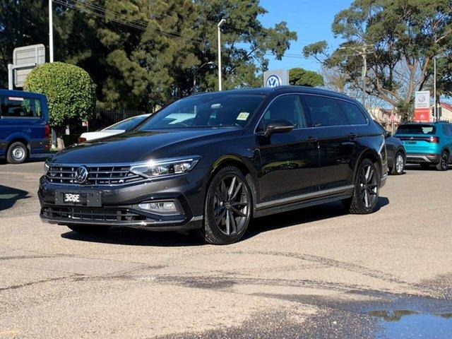 Demo Volkswagen Passat 3C (B8) MY21 206TSI DSG 4MOTION R-Line Botany, 2021 Volkswagen Passat 3C (B8) MY21 206TSI DSG 4MOTION R-Line Grey 6 Speed