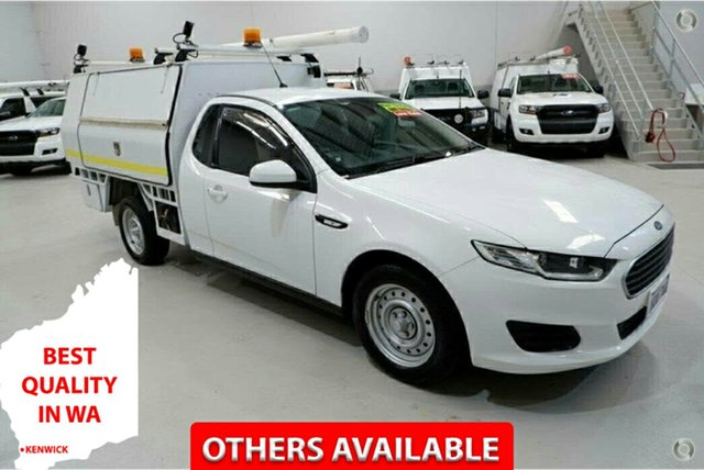 Used Ford Falcon FG X Super Cab Kenwick, 2016 Ford Falcon FG X Super Cab White 6 Speed Sports Automatic Cab Chassis