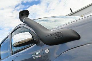 2010 Toyota Hilux KUN26R MY10 SR5 Grey 5 Speed Manual Utility.