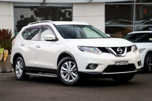 Used Nissan X-Trail T32 ST-L X-tronic 2WD Sutherland, 2015 Nissan X-Trail T32 ST-L X-tronic 2WD White 7 Speed Constant Variable Wagon
