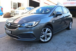 2017 Holden Astra BK MY17.5 RS Grey 6 Speed Automatic Hatchback.