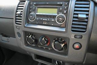 2010 Nissan Navara D40 RX Silver 6 Speed Manual Utility