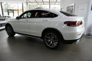 2020 Mercedes-Benz GLC-Class C253 800+050MY GLC300 Coupe 9G-Tronic 4MATIC White 9 Speed