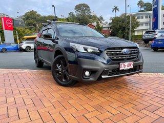2020 Subaru Outback B7A MY21 AWD Sport CVT Dark Blue 8 Speed Constant Variable Wagon.