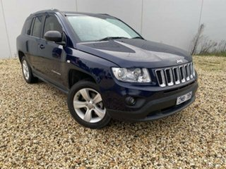 2012 Jeep Compass MK MY12 Sport (4x2) Blue Continuous Variable Wagon.