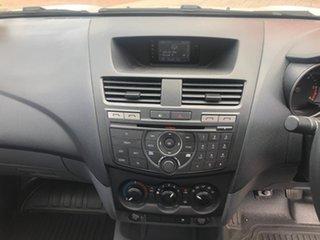 2017 Mazda BT-50 UR0YE1 XT 4x2 White 6 Speed Manual Cab Chassis