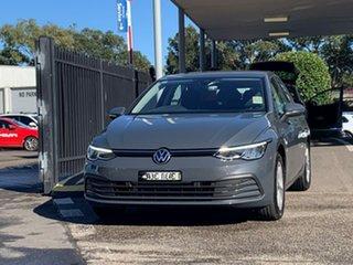 2021 Volkswagen Golf 8 MY21 110TSI Grey 6 Speed Manual Hatchback.