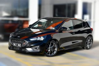 2021 Ford Focus SA 2021MY ST Black 7 Speed Automatic Hatchback.