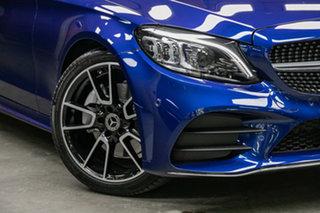 2021 Mercedes-Benz C-Class C205 801MY C300 9G-Tronic 896-Brilliant Blue Metallic 9 Speed