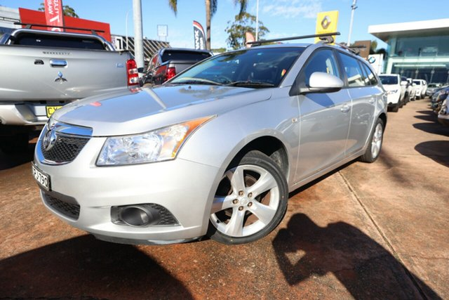 Used Holden Cruze JH Series II MY13 CD Sportwagon Brookvale, Holden Cruze JH Series II MY13 CD Sportwagon Silver 6 Speed Sports Automatic Sportswagon