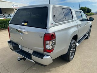 2019 Mitsubishi Triton MR MY20 GLS Double Cab Premium Grey/300519 6 Speed Sports Automatic Utility.