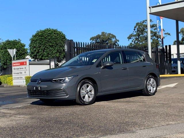 Demo Volkswagen Golf 8 MY21 110TSI Botany, 2021 Volkswagen Golf 8 MY21 110TSI Grey 6 Speed Manual Hatchback