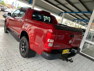 2015 Holden Colorado Z71 Red Sports Automatic Dual Cab Utility