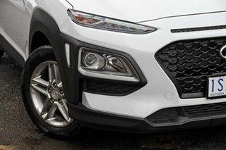 2020 Hyundai Kona OS.3 MY20 Active D-CT AWD White 7 Speed Sports Automatic Dual Clutch Wagon.