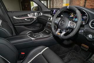 2020 Mercedes-Benz GLC-Class X253 800+050MY GLC63 AMG SPEEDSHIFT MCT 4MATIC+ S Diamond White 9 Speed.