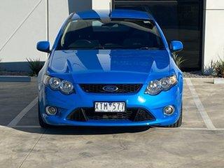 2010 Ford Falcon FG XR6 Ute Super Cab Blue 5 Speed Sports Automatic Utility.