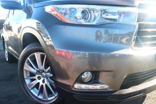 2014 Toyota Kluger GSU55R Grande AWD Predawn Grey 6 Speed Sports Automatic Wagon.