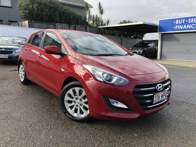 Used Hyundai i30 GD3 Series II MY16 Active Chermside, 2015 Hyundai i30 GD3 Series II MY16 Active Red 6 Speed Sports Automatic Hatchback