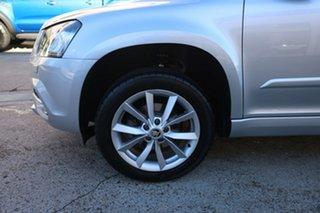 2016 Skoda Yeti 5L MY16 81 TSI Active (4x2) Silver 7 Speed Auto Direct Shift Wagon.