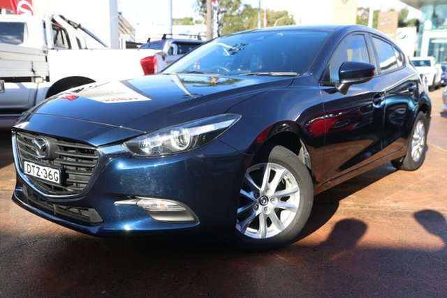 Used Mazda 3 BN MY18 Neo Sport Brookvale, 2018 Mazda 3 BN MY18 Neo Sport Blue 6 Speed Automatic Hatchback