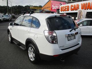 2012 Holden Captiva CG Series II 7 SX (FWD) White 6 Speed Automatic Wagon.