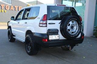 2006 Toyota Landcruiser Prado KZJ120R GX (4x4) White 5 Speed Manual Wagon.