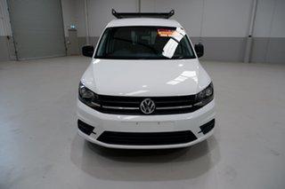 2017 Volkswagen Caddy 2KN MY17.5 TSI220 Crewvan Maxi DSG White 7 Speed Sports Automatic Dual Clutch.