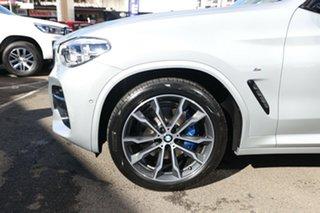 2020 BMW X3 G01 xDrive30i M Sport Glacier Silver 8 Speed Auto Steptronic Sport Wagon.