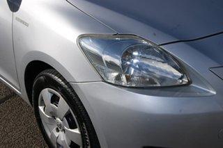 2009 Toyota Yaris NCP93R 08 Upgrade YRS Silver 4 Speed Automatic Sedan.
