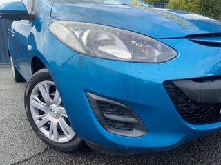 2012 Mazda 2 DE10Y2 MY13 Neo Blue 5 Speed Manual Hatchback.