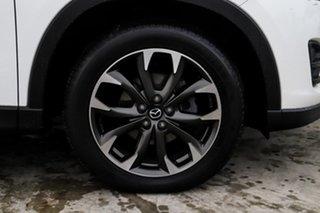 2015 Mazda CX-5 KE1022 Grand Touring SKYACTIV-Drive AWD White 6 Speed Sports Automatic Wagon