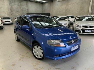 2006 Holden Barina TK Blue 5 Speed Manual Hatchback.