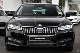 2021 Skoda Superb NP MY21 162TSI Sedan DSG Style Black 6 Speed Sports Automatic Dual Clutch Liftback.