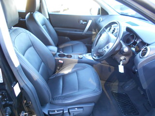 2009 Nissan Dualis J10 MY2009 Ti X-tronic AWD Black 6 Speed Constant Variable Hatchback