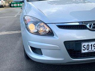 2011 Hyundai i30 FD MY11 SX Silver 4 Speed Automatic Hatchback.