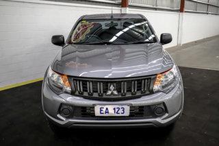 2018 Mitsubishi Triton MQ MY18 GLX+ Club Cab Grey 5 Speed Sports Automatic Utility.