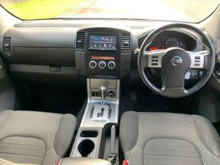 2013 Nissan Navara D40 Series 5 ST-X Silver Sports Automatic Utility